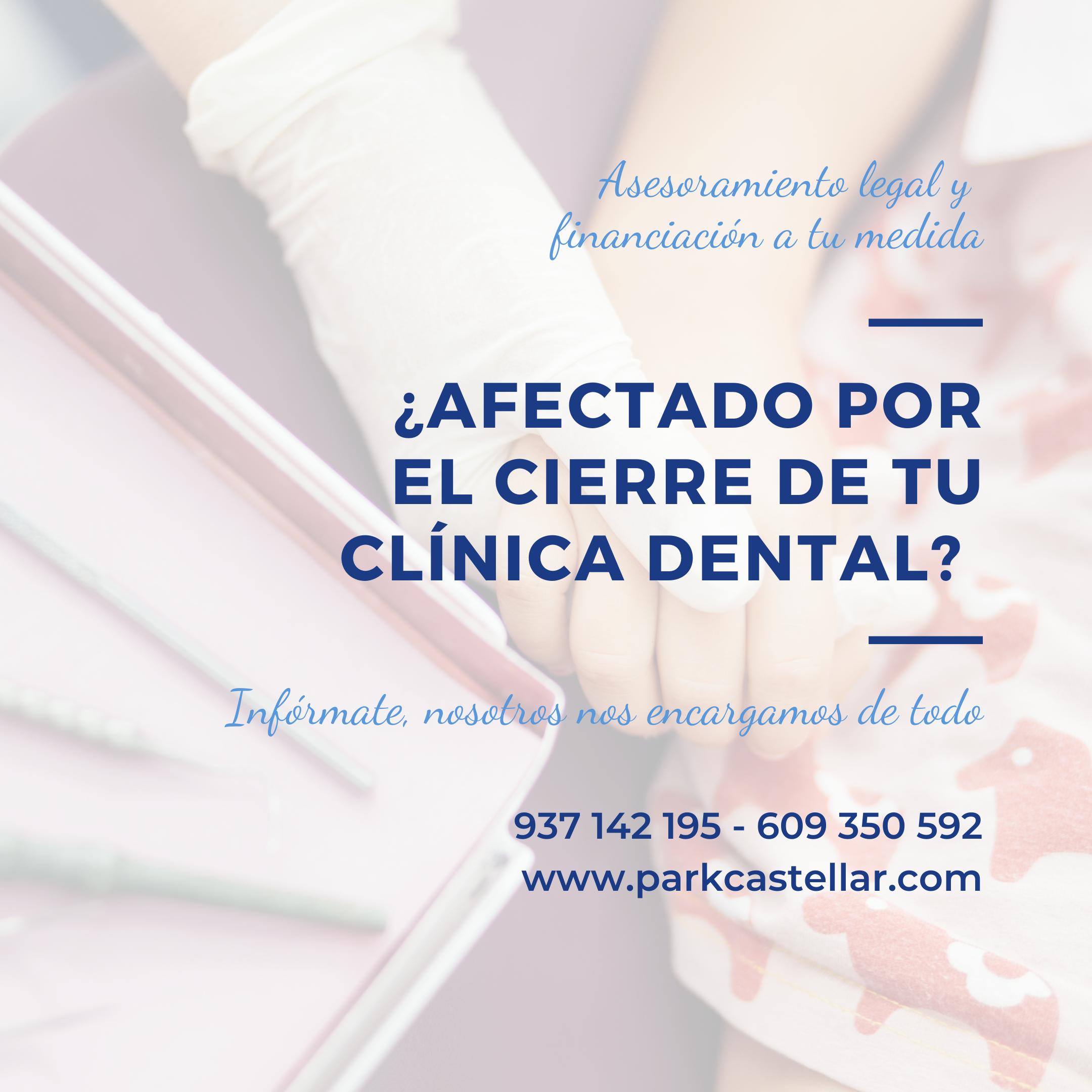Afectado cierre de tu clínica dental